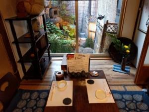 ■tsuboniwa 天満のお座敷でしっぽりと